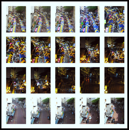 o-kay-la:  Time & Space: Lorong TAR Night Market, Kuala Lumpur Fieldwork, 2009  I just realised that my personal project on urban time-lapse with the Kessler Crane Elektra/Oracle system have greater impact in urbanscape mapping not just in time-lapsing per se. What's the traffic condition, the flow of pedestrians & vehicles, the light pollution source, the hygiene indicator, the environment controller & the of course the aesthetic aspect of the light play itself on low shutter speed. All this from a simple time-lapse. Wow.