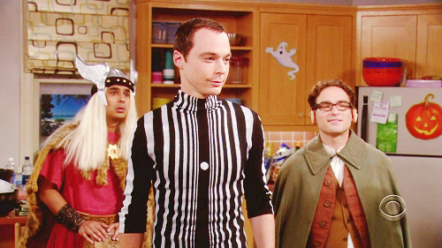 Big Bang Theory - Halloween - Yes Sheldon, you definately are the doppler effect