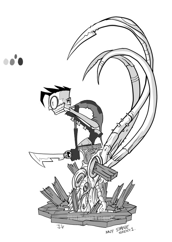 1000+ images about Johnny the Homicidal Maniac!!! on
