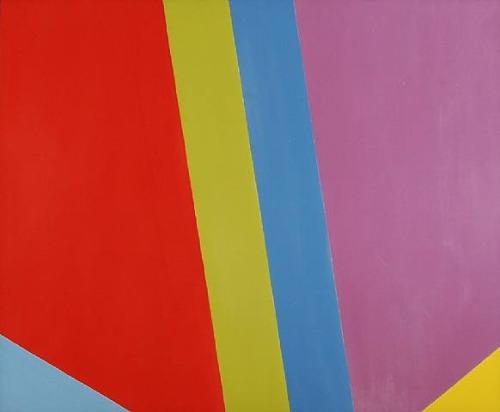 A Big Cut Off(1968), Jack Bush