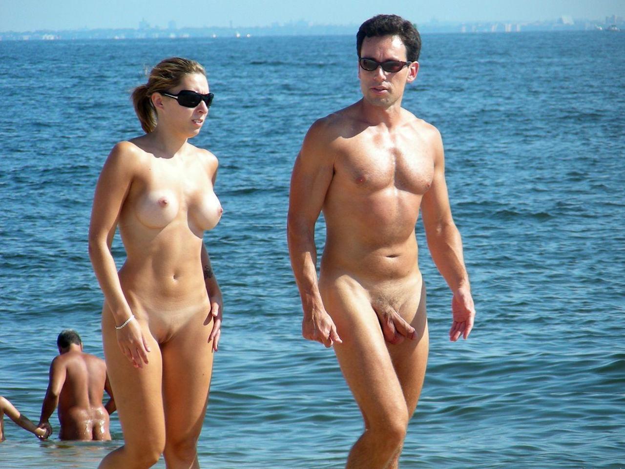 Nude beach she holds the key 6