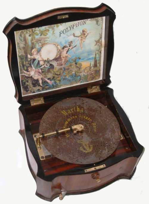 Polyphon music box, ca. 1900.