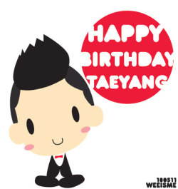 HBD TO @Realtaeyang :)<br /><br /><br /><br /><br /> #HappyBaeDay