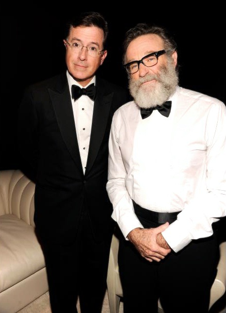 Stephen Colbert and Robin Williams Tony Awards