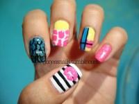 Gorjess Nails - Nicki Minaj Super Bass inspired nail art..