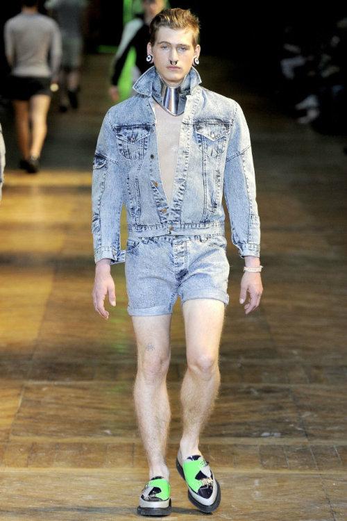 Mugler Menswear Spring/Summer 2012
