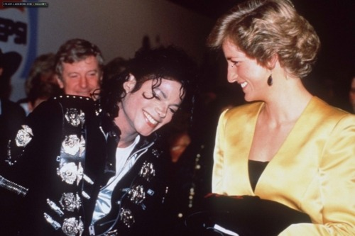Michael Jackson & Princess Diana