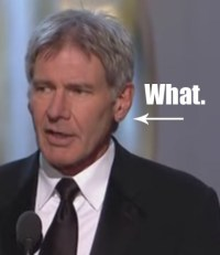 Harrison Ford's Earring