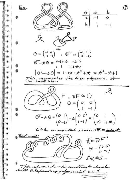 fox calculus