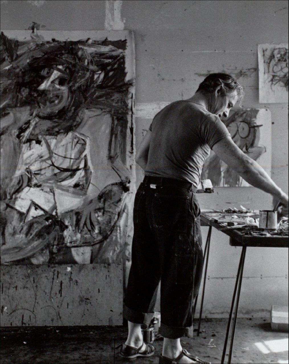 texturism:Willem de Kooning in 1952
