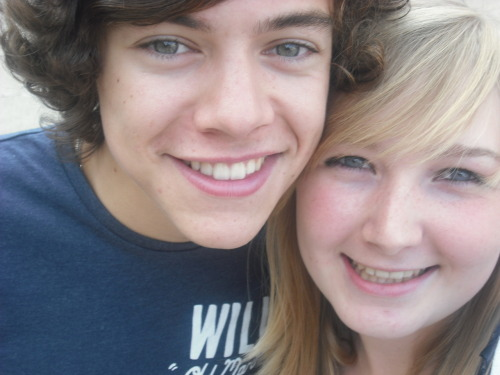 Me and Harry today :D