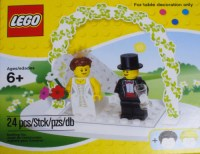 Legzz!  LEGO Wedding Table Decoration Set (via...