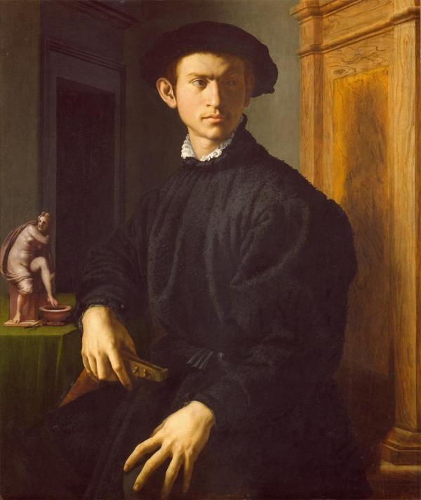 Nec Spe Metu Agnolo Di Cosimo Il Bronzino Portrait Of