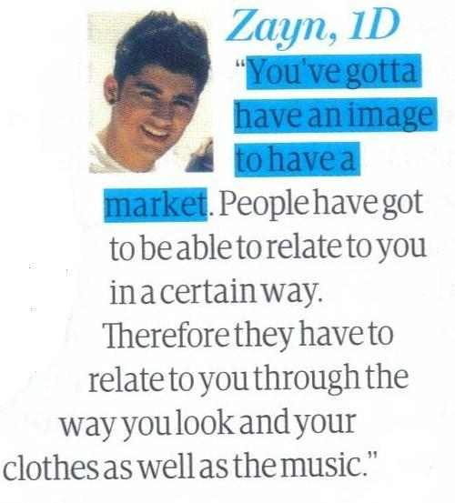 """""""Do pop stars care more about their look than their music?"""" Scan from we love pop If you use/edit please credit me"""