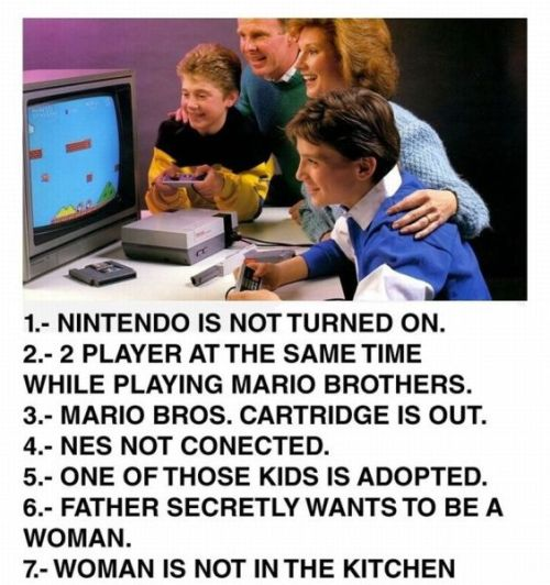 Nintendo advertisement