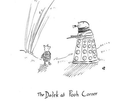 Geek Art Gallery: Mash-Up: Daleks in Literature