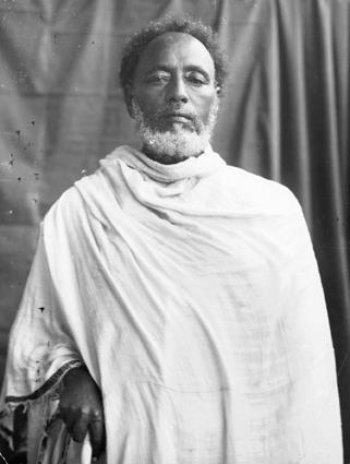 """zulu-rose:  Ras Mikael Ali of Wollo and the Battle of Sagale—————————————————————————————On October 27, 1916, Ethiopia witnessed the historic Battle of Segale, a bloody confrontation for control of Ethiopia's royal title between the forces of the uncrowned Emperor-select Lij Iyasu V and that of Empress Zawditu. Empress Zawditu was the daughter of the late Ethiopian Emperor Menelik II and Lij Iyasu V was Menelik II's grandson.Following the annual Meskel celebration—the finding of the True Cross—-on September 27, 1916, forces loyal to Empress Zawditu proclaimed the removal of the young Lij Iyasu V on the grounds that he had converted to Islam, an accusation unproven.The Battle of Segale was carried out a month later near the town of Meiso, some 300 kilometers southeast of the capital, where forces led by the young Ras Tafari Mekennon(later crowned Emperor Haile Selassie) clashed with forces led by Lij Iyasu V's father Ras Mikael Ali of Wollo.During the battle of Segal, it was reported that the forces of Ras Miikael quickly ran out of ammunition and after much bloodshed , were forced to surrender. Both Ras Mikael and his son were eventually capitured and imprisoned. Ras Mikael was later released into house arrest and died shortly afterward in 1918; Lij Iyasu V remained imprisoned till his death in 1935, at a time when it was reported that Italian forces had intentions of """"rescuing and restoring"""" his authority over Ethiopia.The significance of Ras Mikael——————————————————-Ras Mikael was one of the key players in the Battle of Sagale. Born in 1850 as Mohammed Ali, Mikael was a member of Ethiopian nobility who later converted to Christianity where he embraced his new title as Ras Mikael. In his early years Mikeal befriended both Emperor Yohannes IV and Menelik II. Menelik II appointed Mikael, who married Menelik II's daughter, as the governor of Wallo, where Ras Mikael established his base in the small encampment of Dessie. It was in Dessie where he constructed his palace"""