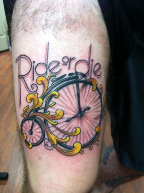 20 I Ride Tattoos Ideas And Designs