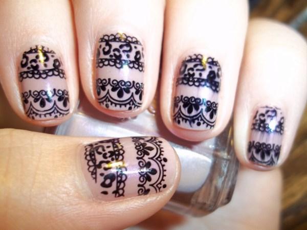 Beautiful Nail Art Design Stamping