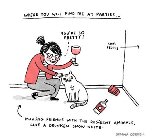 Featured Artist: Gemma Correll (5/6)