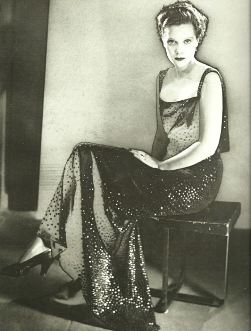 Princess Nathalie Paley in Lucien Lelong by Man Ray, 1935