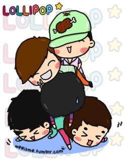 [FANART] BIGBANG - LOLLIPOP ♥