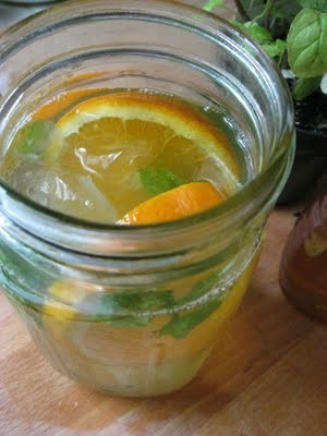 tumblrgym:</p> <p>Dr. Oz's Tangerine Weight-Orade Recipe… For a powerful metabolism-boosting drink, try Dr. Oz's Tangerine Weight-Orade. It contains: green tea, shown to boost metabolism 12% by drinking just one cup; tangerine, with a chemical composition that increases sensitivity to insulin and stimulates genes that help to burn fat; and mint, a calorie-free flavor enhancer. In a large pitcher, combine: 8 cups of brewed green tea / 1 tangerine, sliced / A handful of mint leaves / Stir this delicious concoction up at night so all the flavors fuse together. Drink 1 pitcher daily for maximum metabolism-boosting results.<br /> Get more fitness motivation here<br />