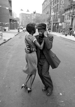 sanspower:</p> <p>Dancers, Mott Haven, August 1979, from the Faces in the Rubble series<br /> Photo Credit: David Gonzalez<br />