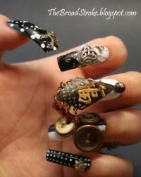 3d nail art on Tumblr