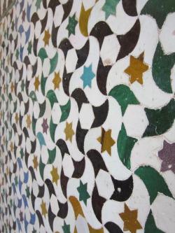 Yaaayyyy colorful mosaics!