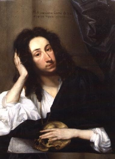 <br />Portrait of John Evelyn (1620-1706) c. 1648</p><p>By Robert Walker </p><p>John Evelyn (1620 - 1706) He is chiefly famous for the diary which he kept for the whole of his life, from the Civil War to the reign of Queen Anne.<br />He took an active part in government, often being consulted by Charles II, and was highly regarded as an expert on both architecture and forestry. His writings also encompass the arts, politics, science and military affairs.