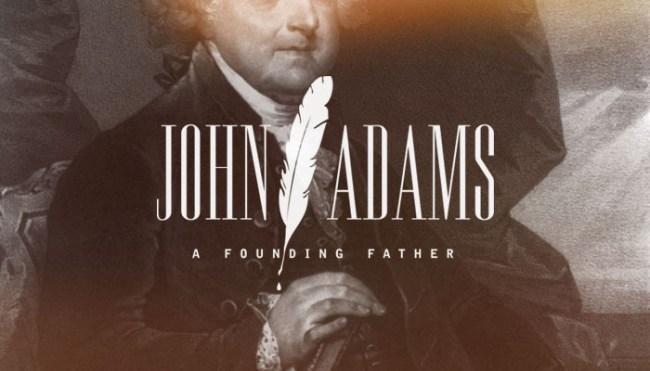 Second President: John Adams (1735-1826)