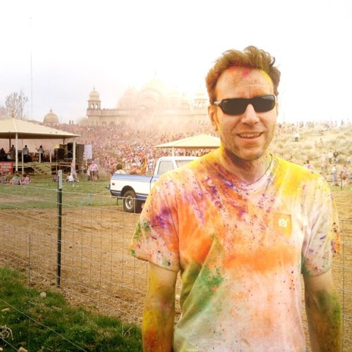 Insane day at the Holi Festival