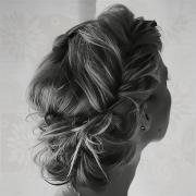 art hair black and white fashion
