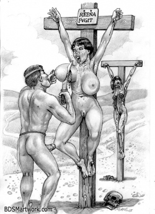 Drawings breast bondage Category:Female submission