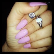 kardashian pointed nails joy