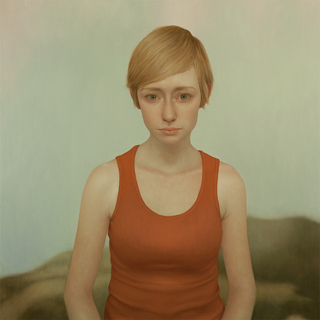 Tabitha 12, oil on panel, 48 x 48 inches, 2011Vail International Gallery, Vail, CO