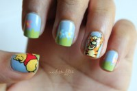 Nail Stuff...?  Winnie the Pooh nails with Pooh and ...