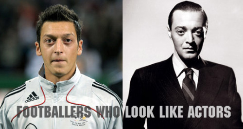 Mesut Ozil / Peter Lorre(submitted by mimirose)
