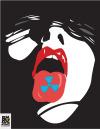 "Courtney Brazier ""Speak Against Nukes"" Literally speak against nukes, wear it on your tongue."