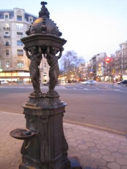 Fancy water fountain