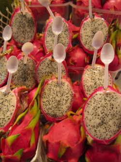 Dragon Fruit. Loved the presentation.