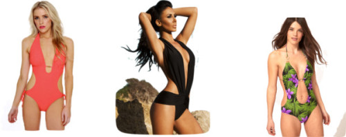 Monokinis by thehautebunny featuring a cut out bikiniASOS cut out bikini, $52One piece bathing suit, $42