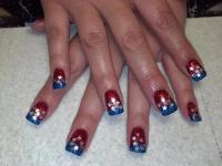 4th Of July Nail Design | Nail Designs, Hair Styles ...