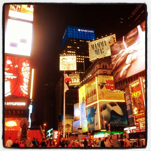New York new York!!! (Taken with Instagram)