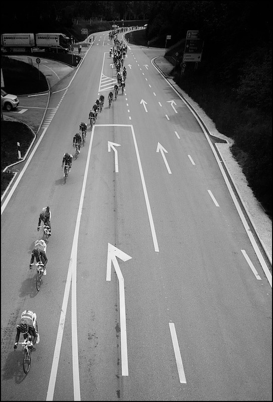 Tour de Suisse 2012, Stage 3. lined up by kristof ramon on Flickr.
