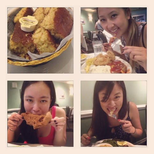 Food coma. @amanda_doodles was a MACHINE!!!!! (Taken with Instagram at Sylvia's)