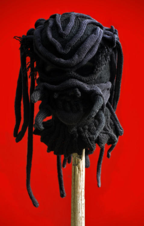 Predator v4, yarn, 2012 (commissioned)