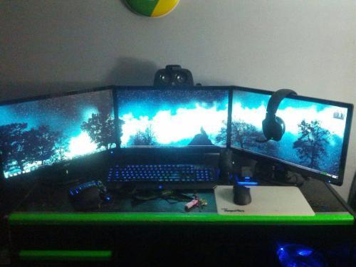 Gaming Setup On Tumblr