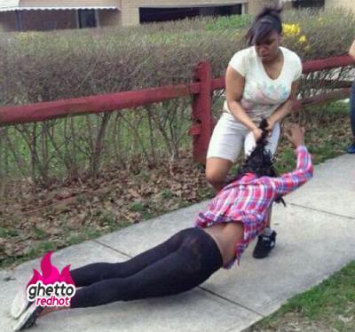 ghetto girl fights